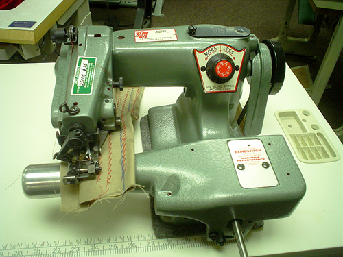 US Blindstitch 1118 Industrial Sewing Machine